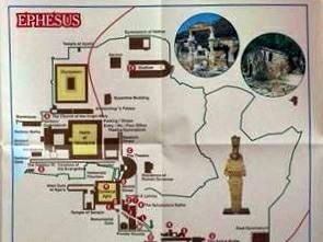 Efes Haritası